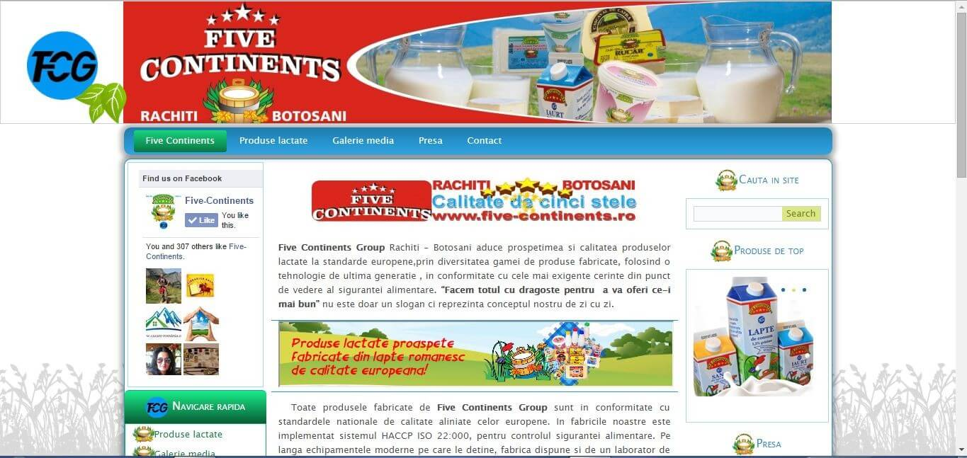 Five Continents Group   Datel IT Web design ,creare site,realizare site,magazin online,blog