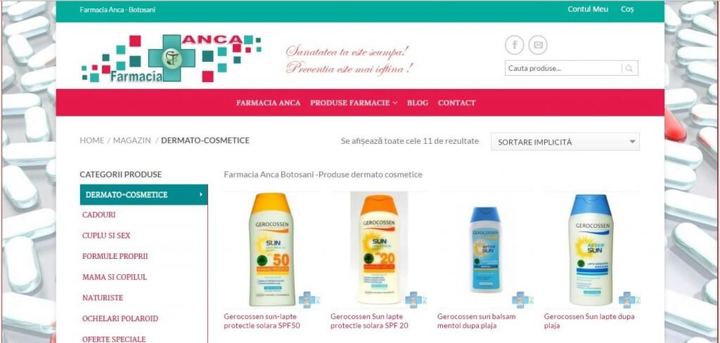 farmacia Anca Botosani 1024x489   Datel IT Web design ,creare site,realizare site,magazin online,blog
