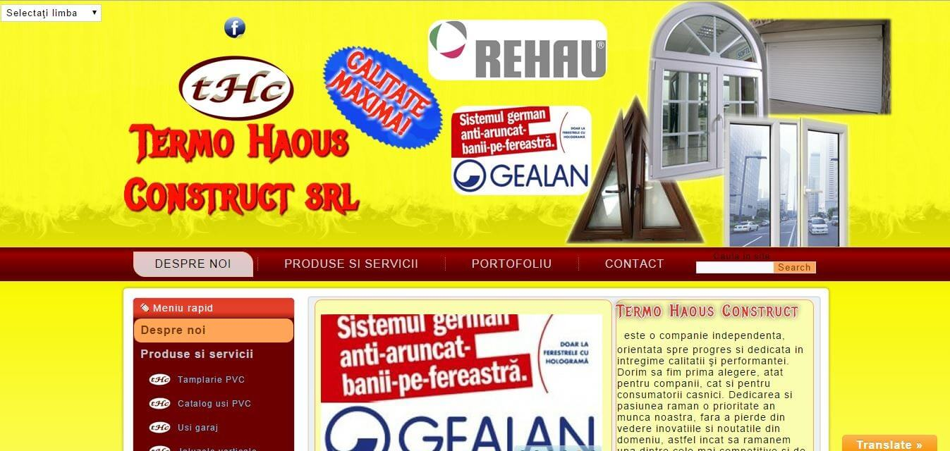 termo haous construct   Datel IT Web design ,creare site,realizare site,magazin online,blog
