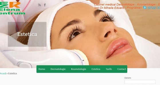 Cabinet medical dermatologie Elena Zentrum Iasi