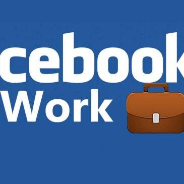 Varianta 'pilot' pentru Facebook at Work a fost lansata.